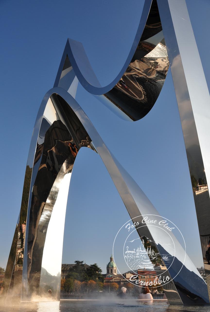 """Premio Speciale """"Amici di Como"""" - monumento Libeskind - Renato Cittadino - Olgiate Comasco - Como"""